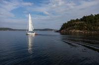 Erster Katamaran als Charteryacht im Segelrevier Schweden