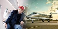 Interview mit Niki Lauda: Wie er mit LaudaMotion abheben will und warum die EU im Sinkflug ist