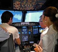 Unser Sponsoring - Young Leadership im Cockpit trainieren