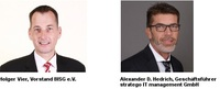 Fachbereich IT-Sicherheit wächst: stratego IT management GmbH schließt sich BISG an