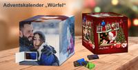 Weltneuheit Schoko-Weihnachtswürfel:
