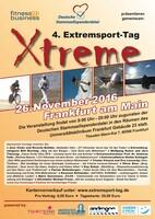 Extremsport-Tag in Frankfurt: Vorträge und Seminare zugunsten der Deutschen Stammzellspenderdatei