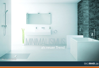 Minimalismus, der neue Trend im Badezimmer