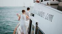 """Neues Hochzeitsangebot auf Aruba : Mit""""Neptuns Segen"""" auf einer Yacht in der Karibik heiraten"""