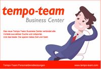 Tempo-Team Business Center vereint Vorteile aus Jobbörse und aktiver Personalsuche