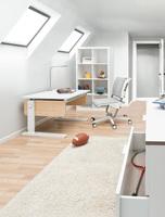 Große Ideen für kleine Kinderzimmer: Der neue Schreibtisch Champion Compact von moll