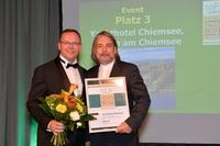 Yachthotel Chiemsee erneut als eines der besten Tagungshotels in Deutschland ausgezeichnet