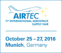 Premier at AIRTEC and Euromold: Air and space trade fair and product-development trade fair present together in 2016 in Munich