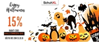 Halloween-Aktion bei SchuhXL- Schuhe in Übergrößen: 15% Rabatt auf jedes Paar