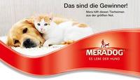 Die Meradog Tierheim-Spenden-Aktion ist entschieden und die Gewinner-Tierheime haben eine zusätzliche Futterration für Tiere in Not.