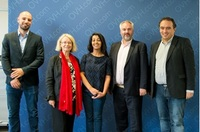 Der europäische Marktführer im Cloud-Bereich empfängt Besuch aus dem Europäischen Parlament