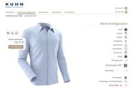 Machen Sie sich Ihr Hemd: Der KUHNfigurator