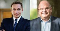 Christian Lindner und Walter Kohl in der Unternehmer Academy