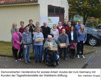 Pilotprojekt: Soziale Tage in der Stiftung Waldheim