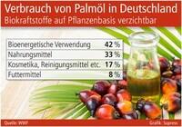 Verbrauch von Palmöl in Deutschland