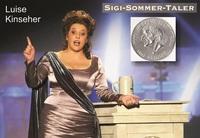 SIGI SOMMER TALER Kunstpreis an LUISE KINSEHER (Schauspielerin und Kabarettistin)