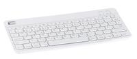 Bluetooth-3.0-Ultraslim-Tastatur, Scissor-Tasten, optimiert für macOS und iOS