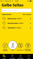 Neue App von Gelbe Seiten jetzt auch für iOS erhältlich