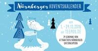Nürnberger Adventskalender 2016 vernetzt 24 Unternehmen