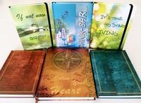 Edle Notizbücher - Positiv mit allen Sinnen durchs Leben gehen