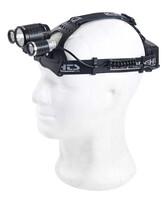 Akku-Stirnlampe mit LEDs von KryoLights