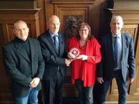 Auszeichnung bei Polizeidirektion Hannover