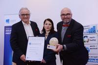 Europäischer Trainingspreis in Silber an Karl Kaiblinger nach Österreich