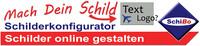 Schilderkonfigurator bei beschilderung24.com von Schibo.de