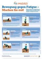 Mit körperlicher Aktivität gegen Fatigue bei Multipler Sklerose
