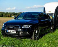 Pferdeanhänger-Zugfahrzeugtest Audi Q5 auf Mit-Pferden-reisen.de