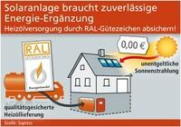 Solaranlage braucht zuverlässige Energie-Ergänzung