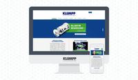 """Neuer Web-Auftritt für Klumpp GmbH - Rot Grün Blau Werbeagentur macht""""s responsive"""