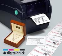 Pässe und Zertifikate aus dem Etiketten-Drucker