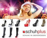 Extravaganz bei schuhplus: Giaro Pumps, Stiefel und Overknees in Übergrößen