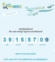 Reisewelt im Wandel: MyHolidaySearch geht an den Start!