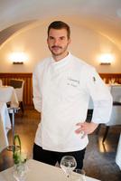 Florian Vogel vom Schloss Hohenkammer bekommt vom Gault & Millau auf Anhieb 15 Punkte