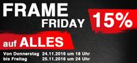 Frame Friday: 15% Rabatt auf alle Bilderrahmen