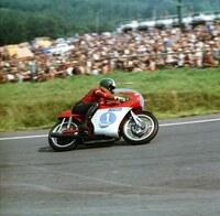 Giacomo Agostini kommt zum Sachsenring