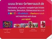 Geschenke brass-farbenrausch Shop Neueröffnung