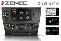 Premium Navi für den BMW 3 - der Z-E3215 MkII von ZENEC