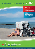 Mecklenburger Radtour: Neuer Radreisekatalog erschienen