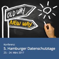 5. Hamburger Datenschutztage im März 2017