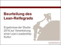 Lean-Studie: Der Lean-Reifegrad der Unternehmen steigt nur langsam