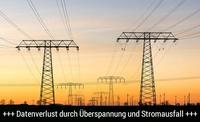 DATARECOVERY® Datenrettung: So schützt man sich vor Datenverlust durch Stromstörungen