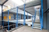 Maßgeschneiderte, modular aufgebaute Lagerbühnen in kürzester Zeit