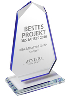 ATVISIO Award 2016 geht an KBA-MetalPrint
