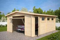 Hansagarten24 bringt 16 neue Holzgaragen auf den Markt