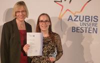 Auszubildende bei aniMedica Herstellungs GmbH ist Bundesbeste