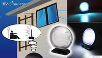 S2G TV Simulator/TV Effektlicht erhöht die Sicherheit im Haus