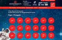 Österreich: Flyer ab 29.95 Euro bei Advertronauts